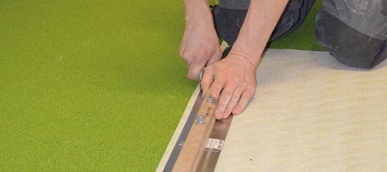 Bodenbelagsarbeiten, Teppichboden
