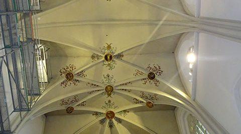 Malerarbeiten, Basilika St. Cyriakus Duderstadt